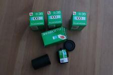 4 Rolls x Fujichrome 100 35mm 36 Exposure Colour Slide film Expired 1989/1990