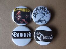 THE DAMNED punk badge job lot no.1 ltd edition collectable