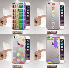 Cubierta Para, Samsung, Dulces, Silicone, Transparente, Iris, Estética, Cute