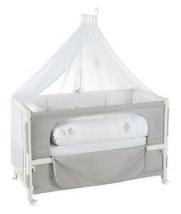 """B-Ware Room Bed """"Fox & Bunny"""" – 60 x 120 cm, höhenverstellbar, Beistellbett zum"""