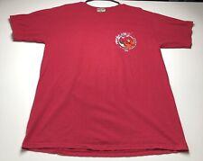 Pirana Joe Cozumel Women's Large Pink Graphic Print T Shirt Short Sleeves Casual