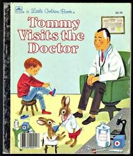 Children's Little Golden Book ~ TOMMY VISITS THE DOCTOR ~ Richard Scarry