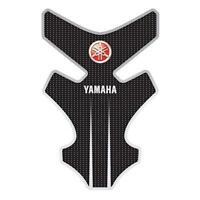 Yamaha MT-03 FZ6R YZF-R1 YZF-R6 MT-09 Tenere Genuine Tank Pad - Black and White