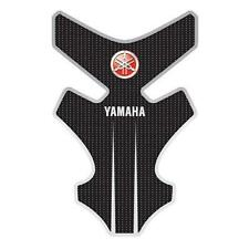 Yamaha MT-03 FZ6R YZF-R1 YZF-R6 MT-09 Tenere Genuine Tank Pad - Black and White