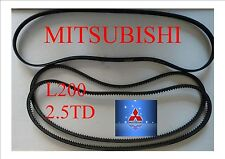 THREE BELTS !!!     FAN BELTS Kit For L200 2.5TD  MITSUBISHI