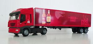 IVECO Stralis 540 Semi 1/43 Trucks  Diecast Jim Beam Stag Red Custom Graphics