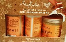 Shea Moisture Coconut & Hibiscus Curl Defining Hair Kit