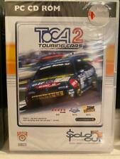 TOCA 2 Touring Cars PC CD-ROM Spiel Vintage/Retro 1998 NEU versiegelt