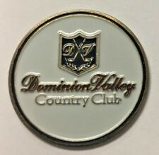 Dominion Valley Country Club - Golf Ball Marker