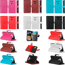 Strap 9in1 Mutifunction Leather Wallet Card Case Cover For LG Series Phones DK