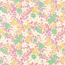 Sweet Lilac 30s Playtime Favorites Floral  Moda Quilt Fabric by the 1/2 yard