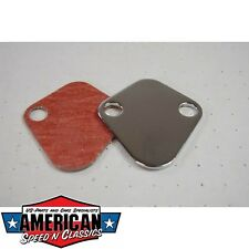 Benzinpumpenabdeckung Chevrolet Big Block V8, V6 usw - Fuel Pump Block Off Plate