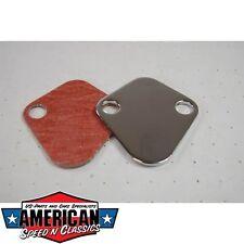 Benzinpumpenabdeckung Chevrolet Big Block V8, V6 - Fuel Pump Block Off Plate