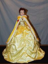 Gemmy Disney Beauty & The Beast Belle Princess Holiday Table Topper