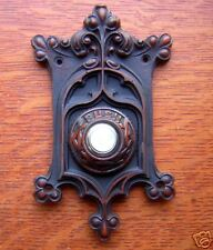 "New Victorian ""Berry & Leaf"" Electric Doorbell Button"