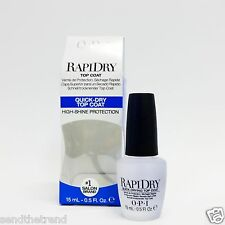OPI Nail Treatment RAPID DRY Top Coat .5oz/15ml