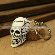 fashion 5pcs key chain Alchemy Gothic Lost Tribe Death pendant The skeleton