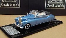 1/43 Rolls Royce Phantom IV Mulliner Cabriolet #4AF6, Blue /Black ,1951
