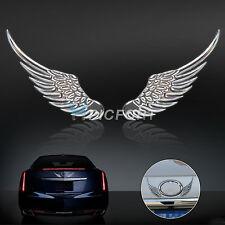 Angel Wings Car Window Bumper Body Badge Sticker Decal Emblem Décor  3D