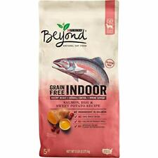Premium Purina Beyond Grain Free, Natural, Adult Dry Cat Food 5 lb.