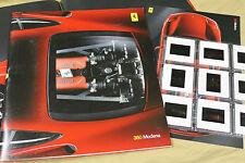 1999 FERRARI 360 MODENA Press kit brochure Prospekt catalogue 95991425