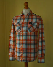 Superdry Collared Checked Slim Casual Shirts & Tops for Men