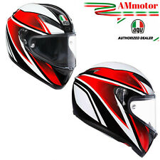 Agv Veloce S Feroce Black Red Casco Integrale Tg S 55 56 Da Moto Offerta