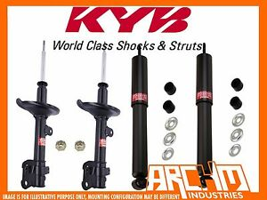 VOLKSWAGEN GOLF IV 10/1998-03/2002 FRONT & REAR KYB SHOCK ABSORBERS
