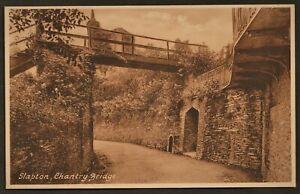 SLAPTON, DEVON postcard Chantry Bridge