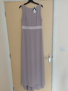 TFNC Bridesmaid Dress Size 14 Lavender Fog