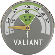 Valiant Magnetic Flue Pipe Stove Thermometer - FIR116