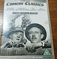 Miss Robin Hood DVD R2 Like New! – FREE POST Richard Hearne Margaret Rutherford