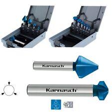 Kegelsenker Set 5er & 6er Senker 60° 120°, CBN, HSS-XE BLUE-TEC, Ø=6,3-25mm