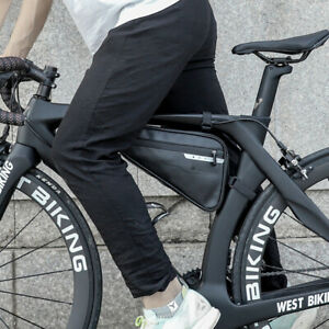 Borsello portaoggetti impermeabile per sella portaoggetti esterno bici coda