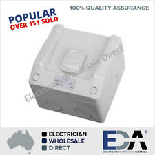 Weatherproof switch 15 Amp Single 1 gang Switch IP Rated Outdoor Electrical
