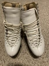 Harlick Figure Skate - Custom Boot With Spin Plate.  Size 8 1/2