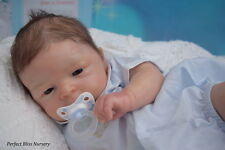 *PBN* YVONNE ETHERIDGE REBORN DOLL  BABY BOY SCULPT MAYLIN BY OLGA AUER 0117