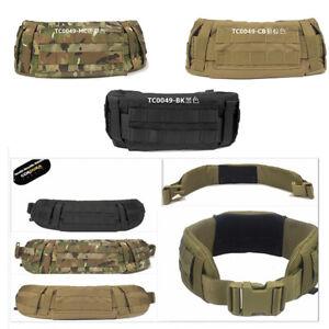 Hunting Waistband Padded Belt Tactical Combat Molle Girdle Cordura