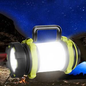 50000LM LED Camping Lantern Flashlight Rechargeable Work Light Emergency Light