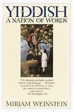 Yiddish: A Nation of Words (Paperback or Softback)