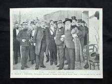 A Perpignan:Pelletan,Tissior,Linières,Bourrat,Pedoya,Benezech Stampa del 1903