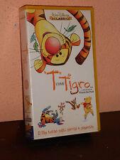 WINNIE THE POOH-T COME TIGRO- VHS ORIGINALE FILM ANIMAZIONE-CARTONI DISNEY