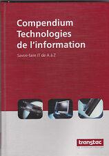 Compendium Technologies de l'information  Savoir-faire IT de A à Z  Transtec