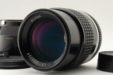 【Mint】 Nikon Nikkor Ai-s 105mm f2.5 Manual Focus Lens with Hood from Japan 295