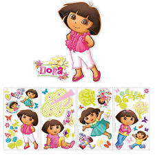 Dora the Explorer & Boots Forest wall stickers 28 decals Nickelodeon room decor