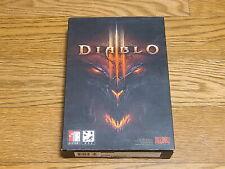 Ultra Raro Diablo 3 Blizzard coreano versión PC Windows Juego DVD coleccionista