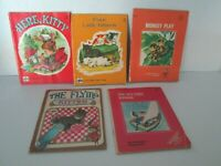 Vintage A Golden Tiny Tale and Golden Press Children's Books Lot of 5 pre-owned