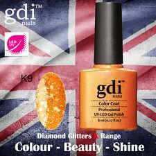 UK SELLER Gdi Nails Diamond Glitters K09 UV/LED Gel Soak Off nail polish