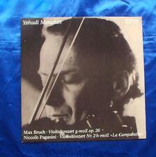 Yehudi Menuhin Violinkonzert LP Album 1975 Eterna 8 26 555