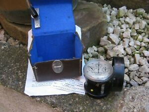 Antique Anemometer air meter by Casella - London
